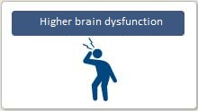 Higher brain dysfunction